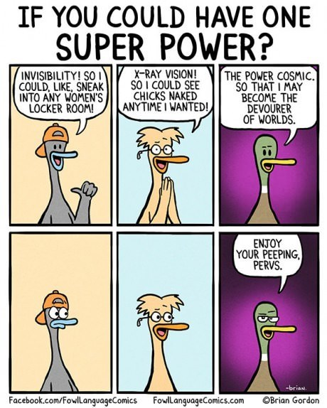 ducks,super powers,sick truth,web comics