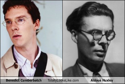 Benedict Cumberbatch Totally Looks Like Aldous Huxley
