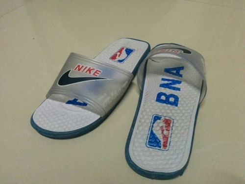 nba,poorly dressed,basketball,sandals,knockoff