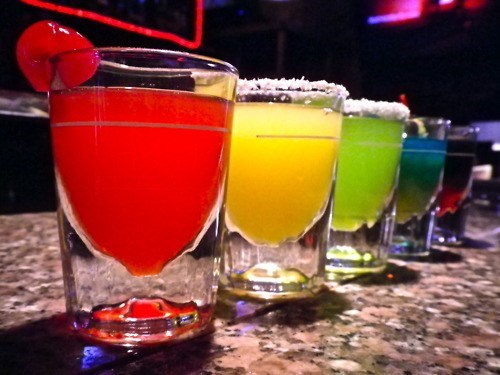 shots fancy booze awesome colorful - 8247843584