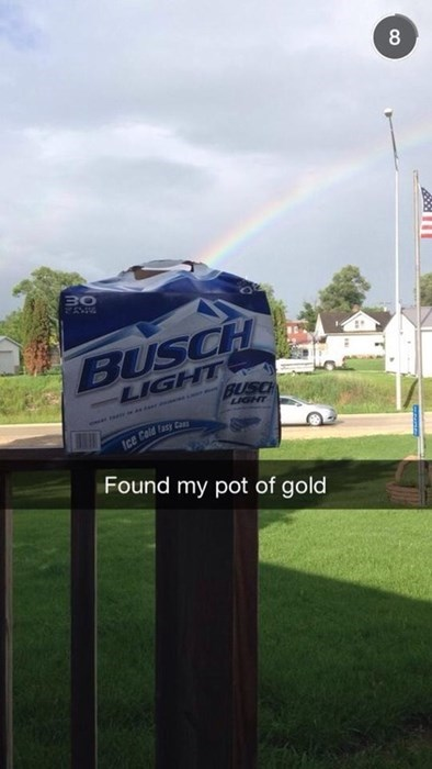 beer leprechaun funny rainbow - 8247857152