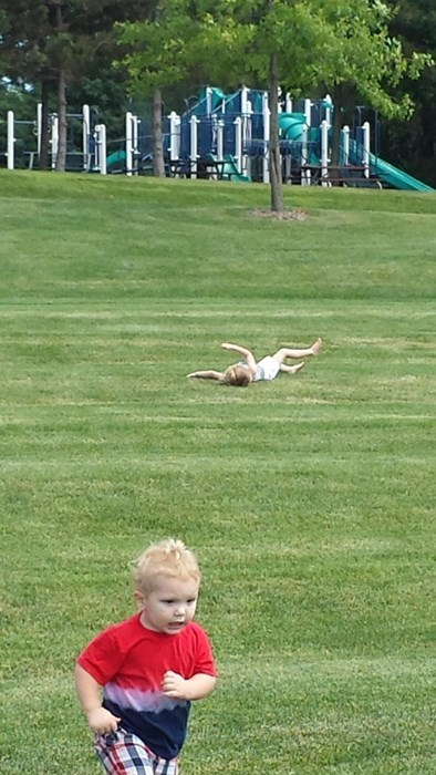 kids rolling park playground parenting hills running - 8247962368