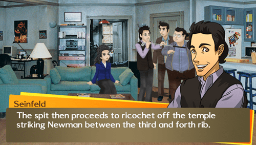 Persona Meets Seinfeld