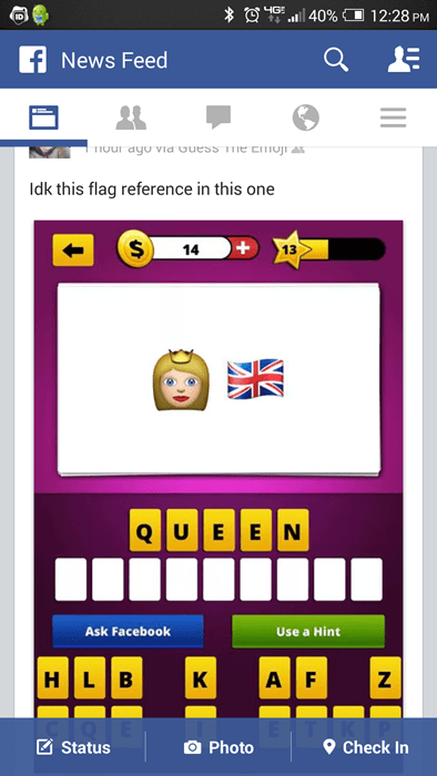flag facepalm facebook games - 8248158720