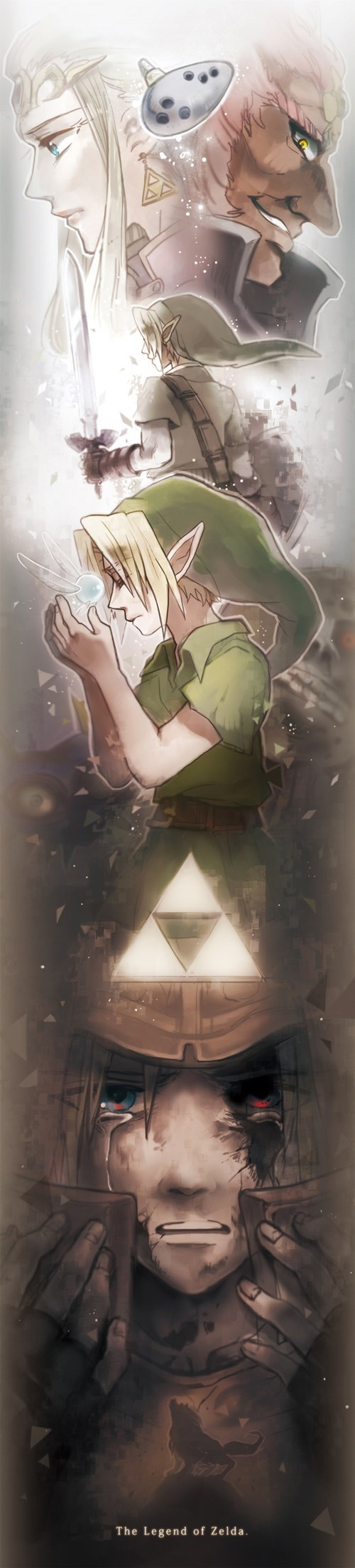 Fan Art link zelda - 8248178688
