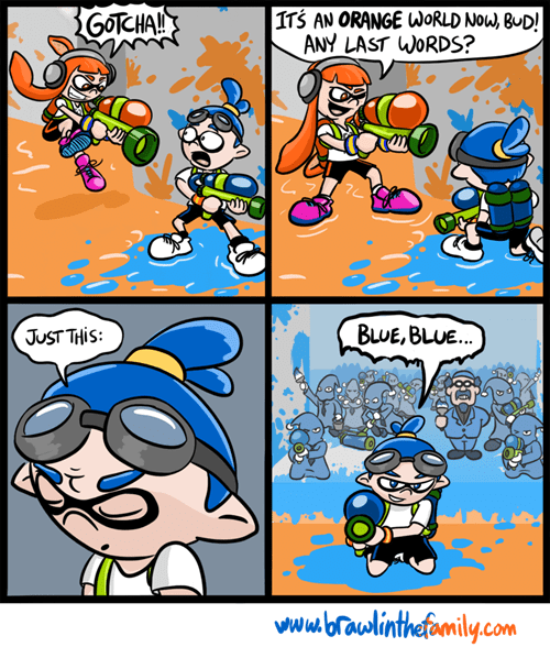 brawl in the family earthbound web comics splatoon - 8248266752