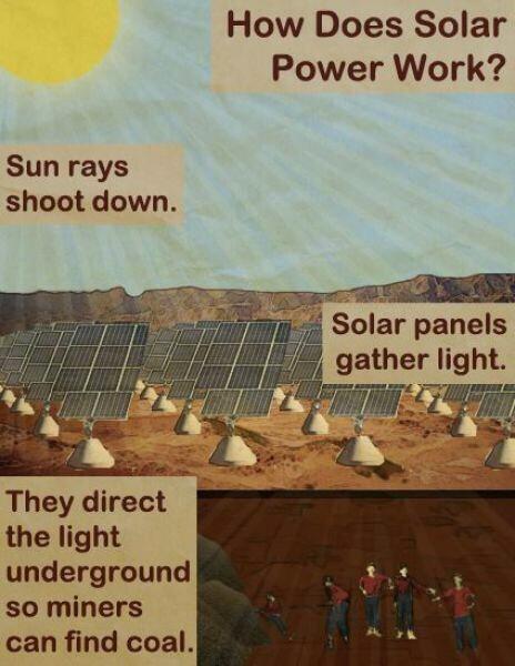 solar power coal - 8248700928