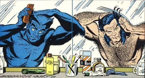 beast x men manscaping Straight off the Page wolverine - 8248721920