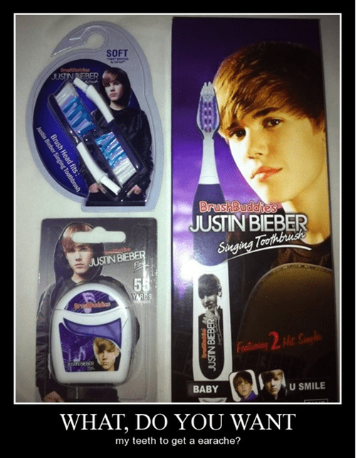 justin beiber funny toothbrush wtf - 8248724480