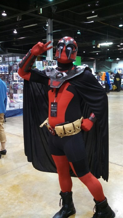 cosplay,Magneto,deadpool