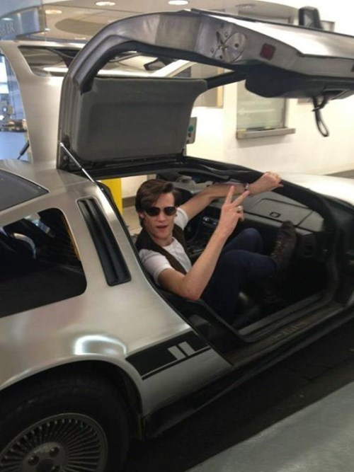 11th Doctor DeLorean Matt Smith time machine - 8248842496