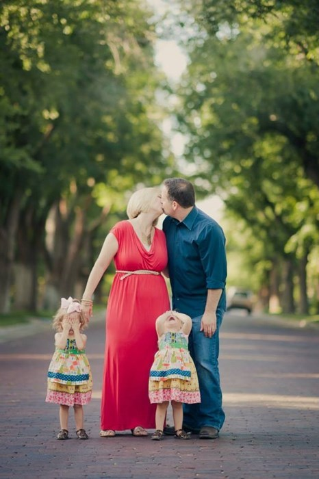 kids family photo parenting kissing g rated - 8248848896