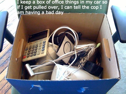 driving excuse monday thru friday office supplies g rated - 8248878848