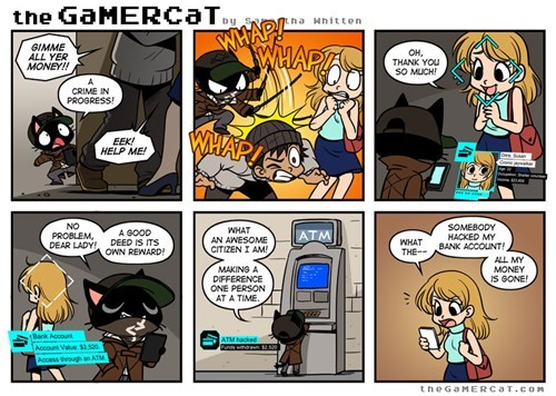 web comics the gamer cat Watch_dogs - 8248899840