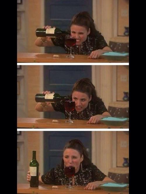 drinking wine TV funny - 8248908288
