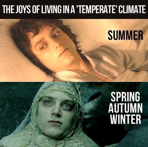Lord of the Rings,summer,weather,seasons