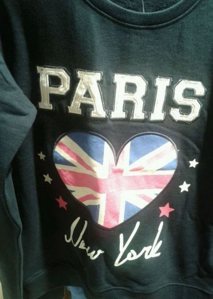united kingdom paris poorly dressed sweatshirt new york geography - 8248927744