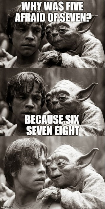 jokes the force yoda - 8248964096