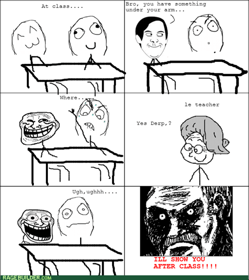 friends class school trollface - 8248969728