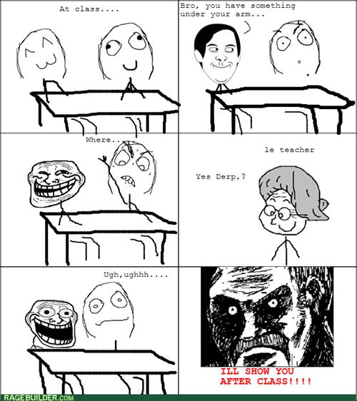 friends class school trollface - 8248969728