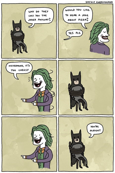 batman,the joker,web comics