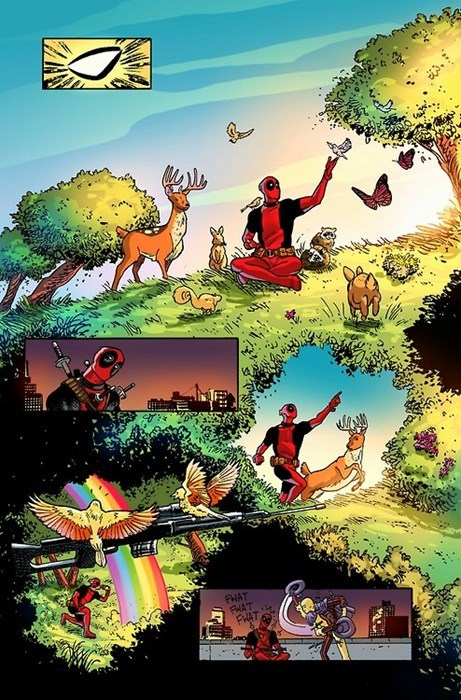 hallucination deadpool Straight off the Page - 8248994560