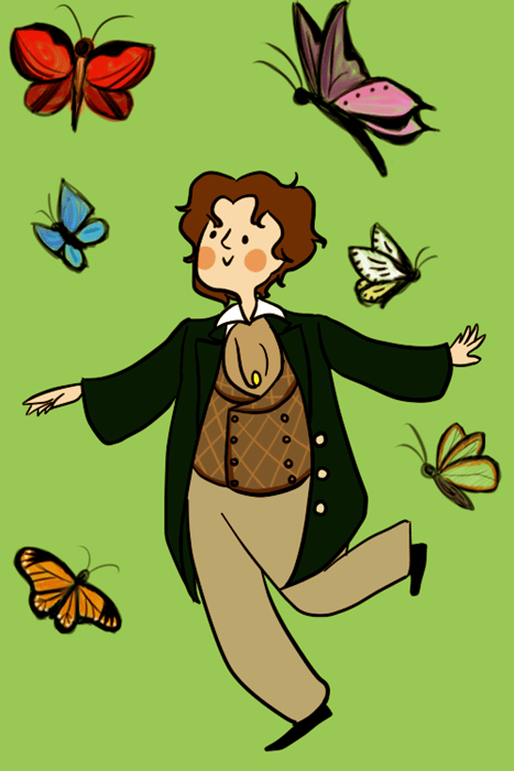 butterflies 8th doctor classic who - 8249036288