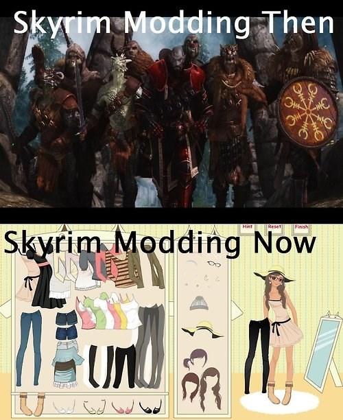 modding,Skyrim