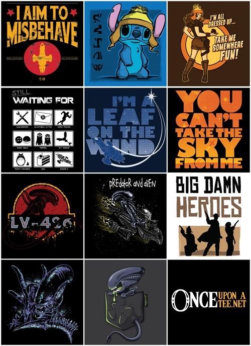Firefly,tshirts,xenomorph