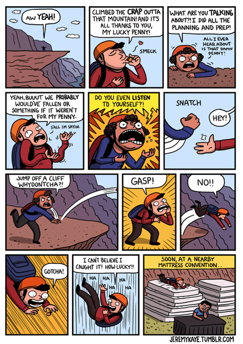 pennies mountains web comics lucky - 8249113088