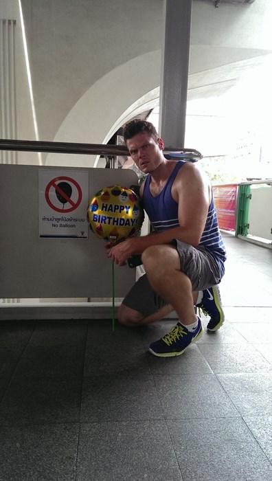 warning sign Balloons - 8249137920
