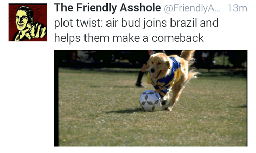 twitter world cup soccer air bud - 8249146624