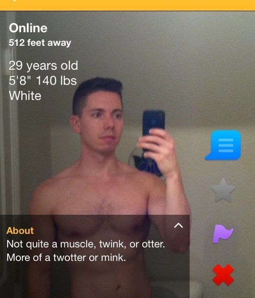 twink,otter,online dating,muscle,funny