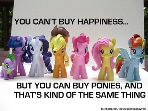 MLP Hasbro happiness mane 6