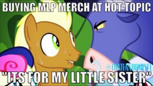 brony hot topic problems - 8249661184