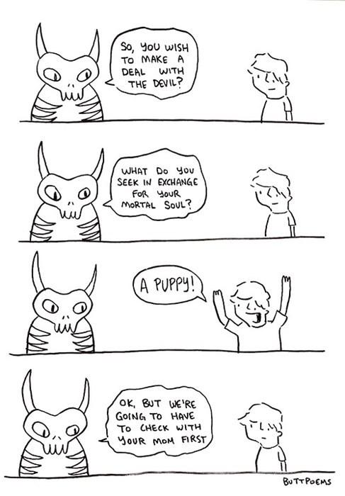 devil puppies souls the devil web comics - 8249753856