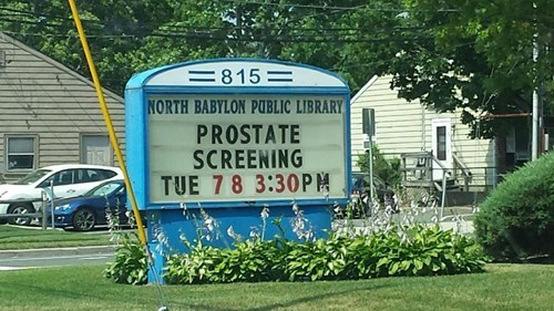 funny prostate exam sign reading library wtf g rated School of FAIL - 8249793536