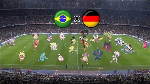 brazil Germany Pokémon soccer world cup - 8249801728