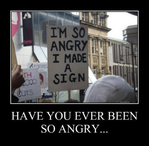 angry awesome funny sign - 8249906176