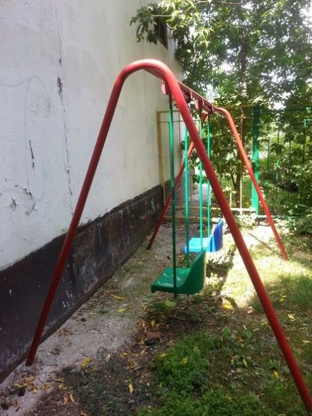 FAIL swing playground parenting g rated - 8250036224