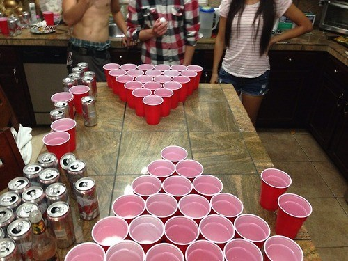 beer pong funny Party shirtless - 8250081024