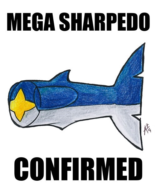 Game Freak sharpedo mega sharpedo - 8250792448
