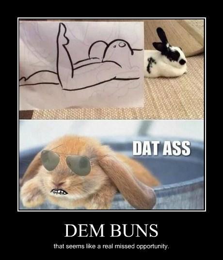 booty bunny funny - 8251065344