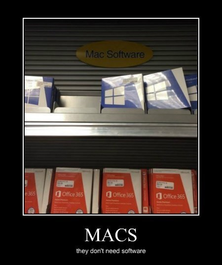 funny macs software windows