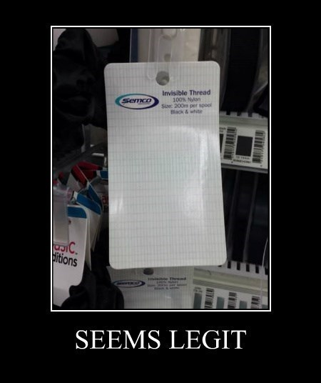 funny seems legit thread invsible - 8251067904