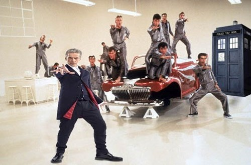 12th Doctor grease - 8251075072