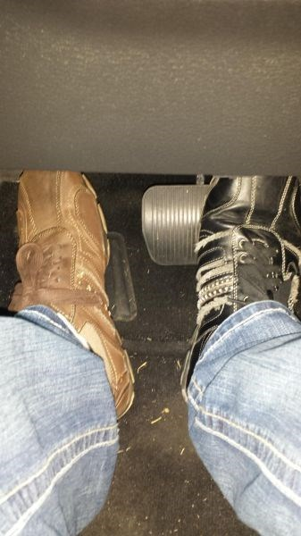 driving shoes mismatched poorly dressed g rated