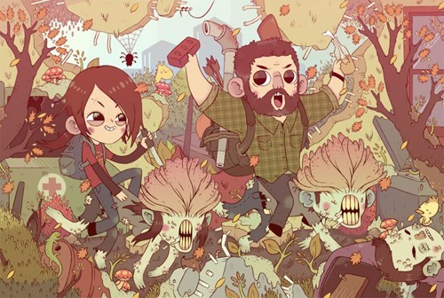 cute,Fan Art,the last of us