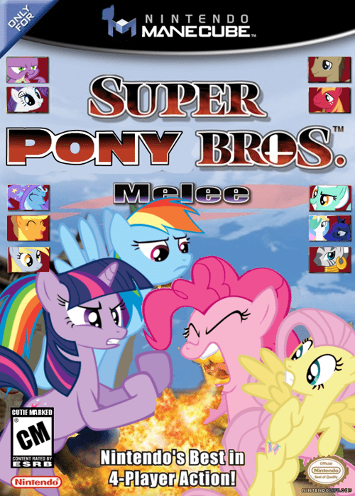 super smash bros,mane 6