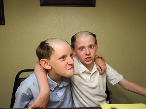 bald kids hair haircut parenting poorly dressed g rated - 8251160832
